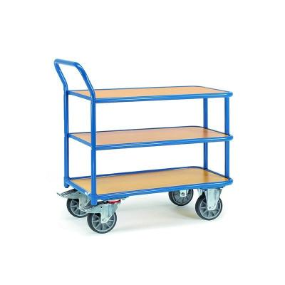 Chariot a 3 plateaux charge 400 kg