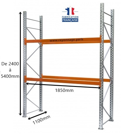 Vue d ensemble rack 1851